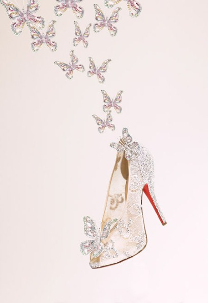 cinderella louboutin princess shoes
