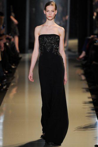 e5ec0035704 Elie Saab Spring 2013 couture. long black dress 2