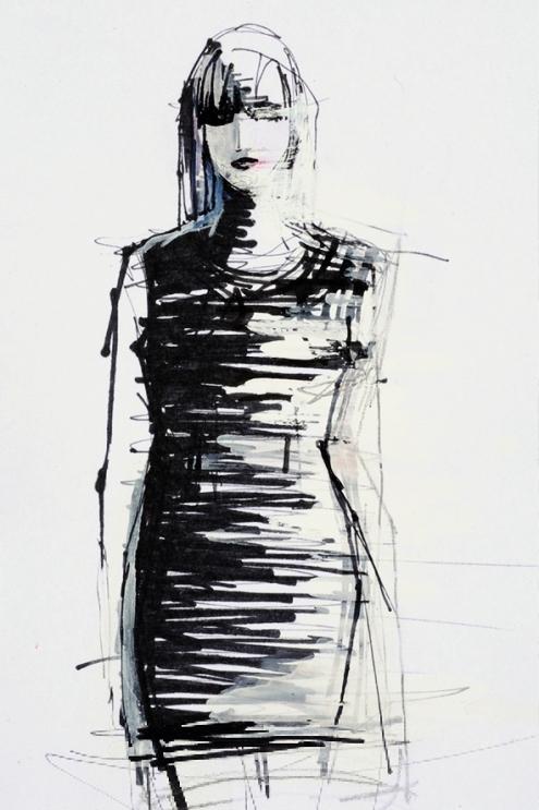 Elvira 't Hart wearable sketches drawings 2