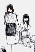 Elvira 't Hart wearable sketches drawings
