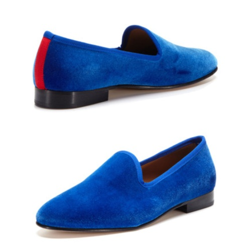 Prince Albert Slipper Del Toro Shoes Blue