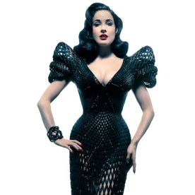 dezeen_3D-printed-dress-by-Michael-Schmidt-and-Francis-Bitonti_Dita Von Teese