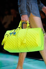 Louis Vuitton keepall bandouliere 45 yellow