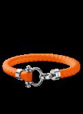 Omega Aqua bracelet orange rubber