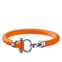 Omega Aqua bracelet orange rubber
