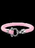 Omega Aqua bracelet pink rubber