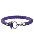 Omega Aqua bracelet rubber purple