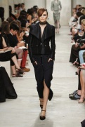 CHANEL resort 2014 Singapore - Black jacket and skirt