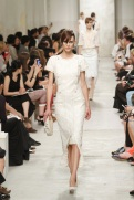 CHANEL resort 2014 Singapore - White dress