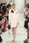 CHANEL resort 2014 Singapore - White trench coat