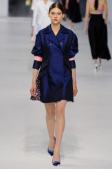 Dior Cruise 2014 - Blue silk jacket
