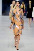 Dior Cruise 2014 - nude jacket with a print
