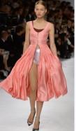 Dior Cruise 2014 - Peach dress