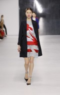 Dior Cruise 2014 - Red and white dress