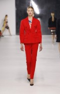 Dior Cruise 2014 - Red tuxedo
