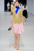 Dior Cruise 2014 - yellow and pink dress
