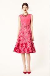 Oscar de la Renta 2014 Resort - Pink dress