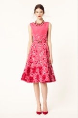 Oscar de la Renta 2014 Resort - Pink dress