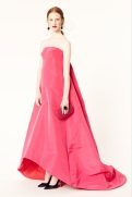Oscar de la Renta 2014 Resort - Pink long dress