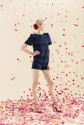 Alice + Oliva Resort 2014 - Navy blue shirt and shorts