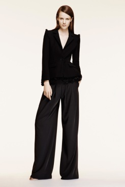 Altuzarra Resort 2014 - Black jacket and black pants