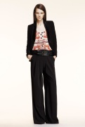 Altuzarra Resort 2014 - Black pant suit