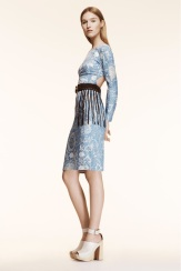 Altuzarra Resort 2014 - Paisley blue dress