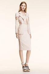 Altuzarra Resort 2014 - Peach jacket and skirt
