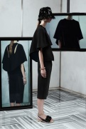 Balenciaga Resort 2014 - black top and pants