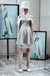 Balenciaga Resort 2014 - Grey dress