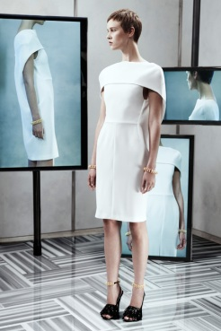 Balenciaga Resort 2014 - White dress II