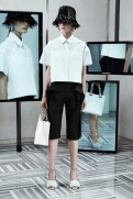 Balenciaga Resort 2014 - White shirt black pants