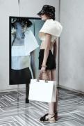 Balenciaga Resort 2014 - White top and shorts