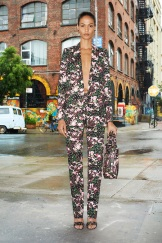 Givenchy Resort 2014 - Floral jacket and pants