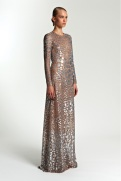 Michael Kors Resort 2014 - Silver and nude dress