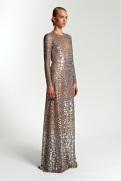 Michael Kors Resort 2014 - Silver and nude dress