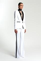 Michael Kors Resort 2014 - White tuxedo