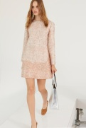 Stella McCartney Resort 2014 - Pink snake printed dress