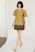 Stella McCartney Resort 2014 - Snake print dress