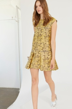 Stella McCartney Resort 2014 - Snake printed dress