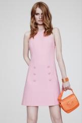 Versace Resort 2014 - Pink dress