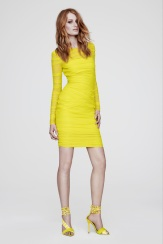 Versace Resort 2014 - Yellow dress