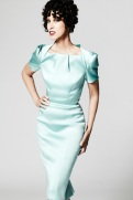 Zac Posen Resort 2014 - Mint green dress
