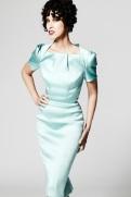 Zac Posen Resort 2014 - Mint green dress