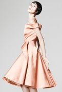 Zac Posen Resort 2014 - Peach dress II
