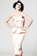 Zac Posen Resort 2014 - Peach dress