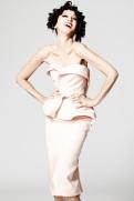 Zac Posen Resort 2014 - Peach dress