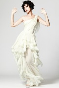 Zac Posen Resort 2014 - white dress