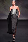 Christian Dior Fall 2013 Couture - Black grey dress