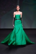 Christian Dior Fall 2013 Couture - Emerald green dress